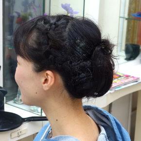 結婚式まとめ髪