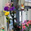 美容室のお花