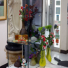 高円寺駅近美容室の花